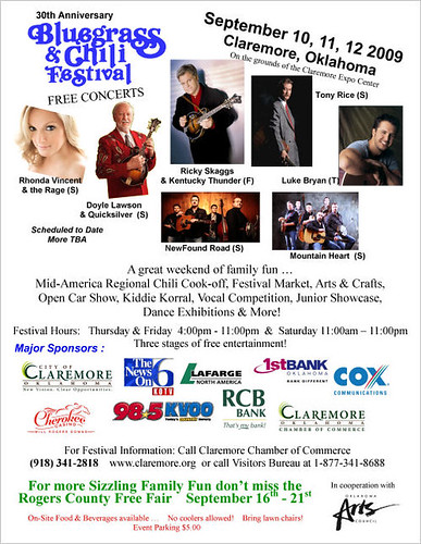 Bluegrass and Chili Festival