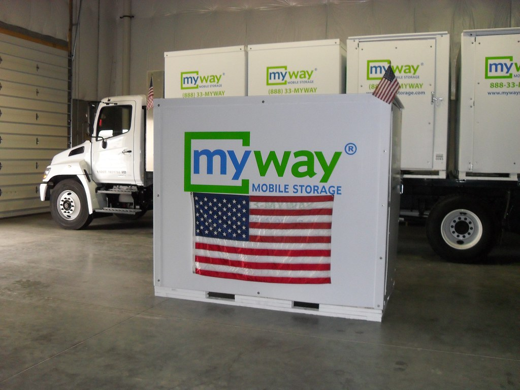 American Flag MyWay Mobile / Portable Storage Container