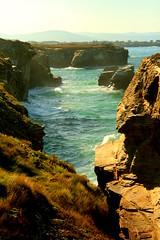PLAYA AS CATEDRAIS (Sr.Fulano) Tags: ocean sea costa naturaleza beach nature coast landscapes mar cathedrals sunny playa paisaje lugo catedrales ascatedrais acantilados