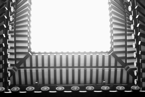 Light through the temple roof