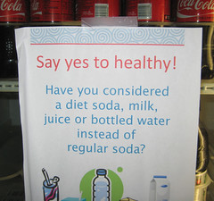 Sign on USDA Soda