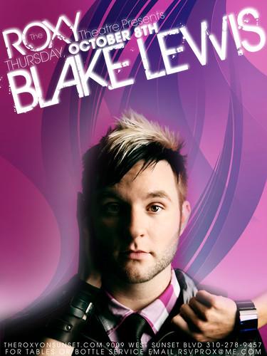 Blake Lewis October 8, 2009