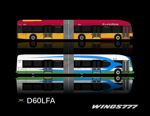 KCM RapidRide, CT Swift DE60LFA, by wings777