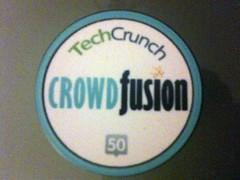 Crowd Fusion TechCrunch 50 poker chip