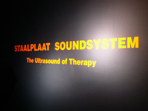 SONIC THERAPY | staalplaat soundsystem