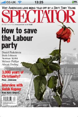 The Spectator iPhone app