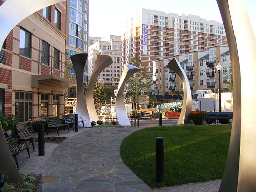 Sculpture Outside Argent Condos