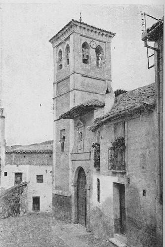 Iglesia de San Cipriano a inicios del siglo XX.