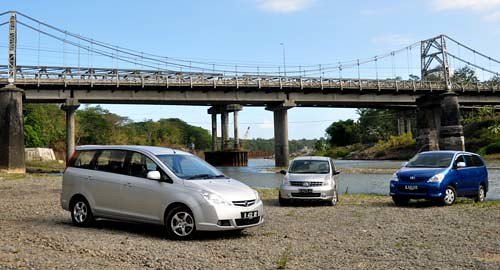 Toyota Innova VS Proton Exora VS Nissan Grand Livina, MPV Review and