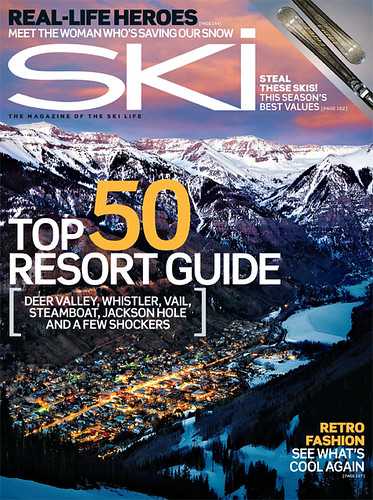 Ski Magazine October Cover