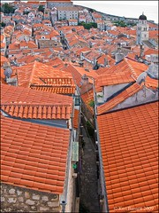 Town Planning Gone Mad (K_D_B 2 Million views. Thanks) Tags: streets canon terracotta croatia roofs tiles oldtown dubrovnik kdb g9 allyways labarinth