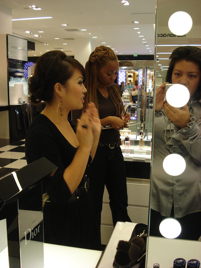 Learning About Makeup From The Best at Christian Dior