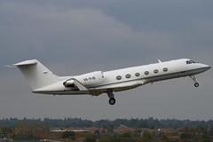 A6-RJB - 1505 - Private - Gulfstream G300 - Luton - 091014 - Steven Gray - IMG_2394