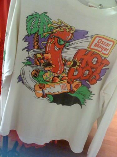 Hot dog shirt