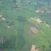 Farmlands View From Plane