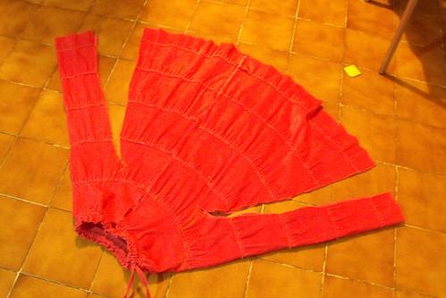 Falda = saco