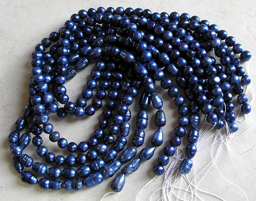 Cobalt Blue Pearls