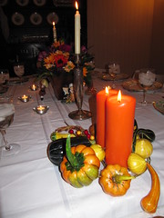 the table is set (SeriesPremiere) Tags: thanksgiving family dinner prehalloween wachtel eyefi