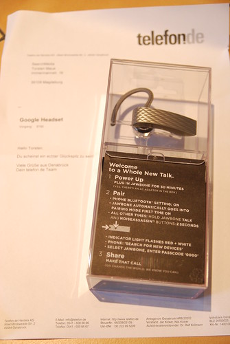 Jawbone Bluetooth Headset