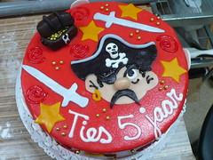 Pirate Treasure Cake (CAKE Amsterdam - Cakes by ZOBOT) Tags: birthday party feest cakes cake children gold utrecht treasure sweet chest things kinder celebration booty pirate marzipan specialty fondant taarten zoegottehrer
