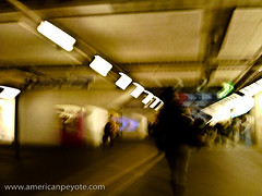 Random Basel Abstract - I (American Peyote) Tags: camera abstract motion blur station train switzerland long exposure slow bahnhof basel yashica firstshots ezf521