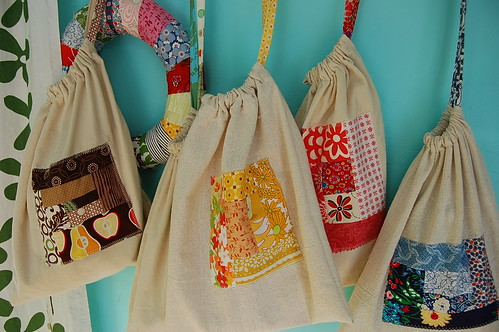 bags for my fabric scraps