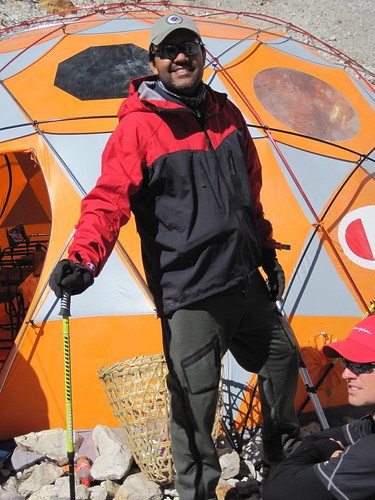 Lovinder, at base camp