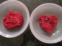 Beet Risotto in Shapes for Kids