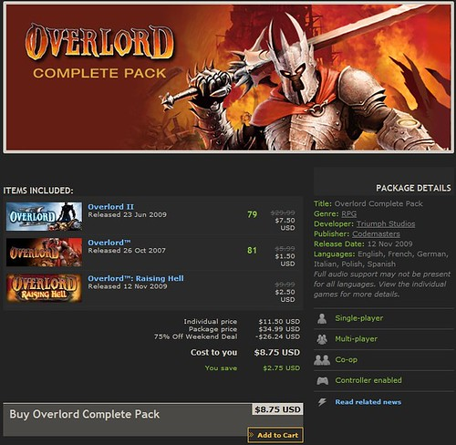 overlord steam