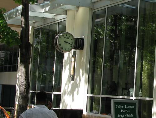 Alvin Goldfarb Jeweler Clock