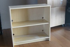 Short bookcase (hey-hall) Tags: freecycle