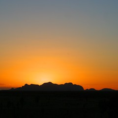 Kata Tjuta sunset (Heaven`s Gate (John)) Tags: travel nature rock nationalpark culture australia worldheritagesite uluru aboriginal katatjuta valleyofthewinds northernterritory ayersrock theolgas 10faves johndalkin heavensgatejohn katatjutasunset