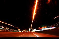 night speed 1 (WorldofArun) Tags: auto light car minnesota st speed paul lights mirror nikon focus automobile experiment prism minneapolis fast tunnel science bmw mathematics interstate passenger twincities zip i94 dizzying 18200mm interstate94 nikond40x yenumula worldofarun arunyenumula