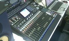 Recording in the studio