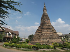 Black Stupa, Vientiane, Laos