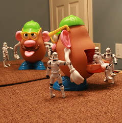 I am sure i said Trojan HORSE and NOT Trojan Mr. Potato Head (...Ashish...) Tags: rebel starwars stormtrooper mrpotatohead trojanhorse clonetrooper maytheforcebewithyou maythe4th stormtrooper365 inflirtation maythefourthbewithme