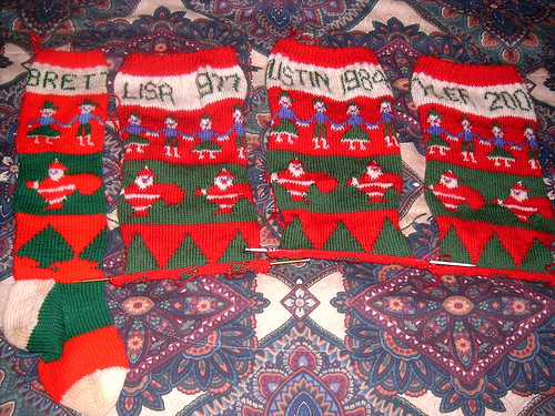 Stockings Chartwork Complete