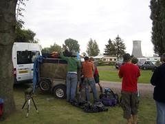 Loading the trailer in Germany (EuCAN Community Interest Company) Tags: poland 2009 eucan milicz baryczvalley