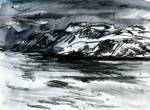 Norway, cold, cold, dark