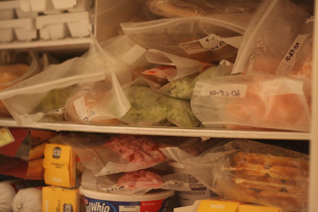 Day 362/365:  Freezer