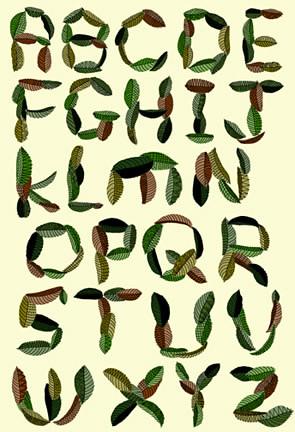 leafy font