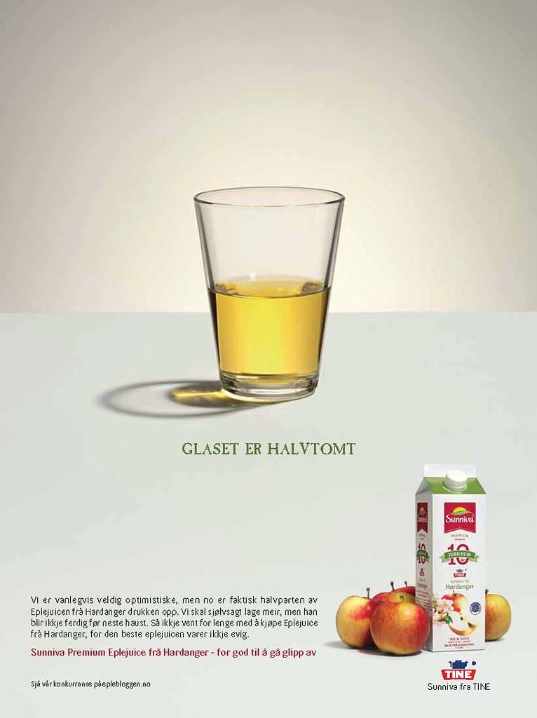 Glaset er halvtomt