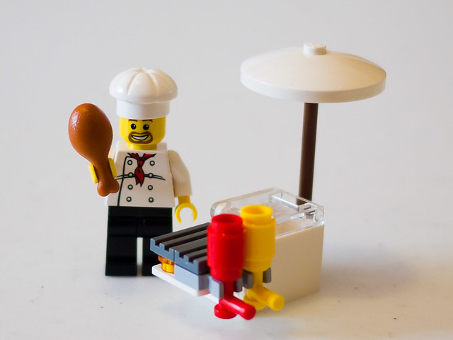LEGO 8398 - BBQ Stand