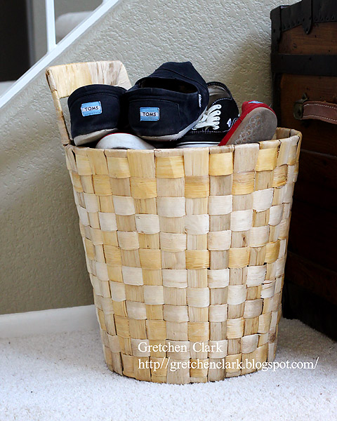 shoe basket