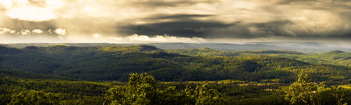 Panorama from Prince Henry Heights, Toowoomba