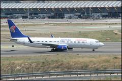 SU-GCM Boeing 737-866(W) Egypt Air (elevationair ✈) Tags: madrid airport madridairport madridbarajasairport barajasairport mad lemd airliners airlines avgeek aviation airplane plane aircraft arrival departure egyptair boeing 737 738 boeing737866w sugcm