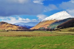 Glen Lyon in Winter (sort of ) (eric robb niven) Tags: ericrobbniven scotland glenlyon landscape perthshire walking hills mountains snow winterspring