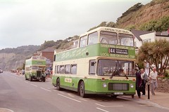 681 (FDL 681V) & 502/702 (CDL 899) - Shanklin Esplanade (GreenHoover) Tags: southernvectis iow isleofwight bus bristolk cdl899 theoldgirl shanklin shanklinesplanade bristolvr 681 fdl681v thevillagebuscompany service44 opentopbus opentop