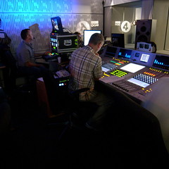 Recording The Bottom Line (Steve Bowbrick) Tags: london studio tv business bbc broadcastinghouse visualisation radio4 bottomline 80a evandavis vistrial