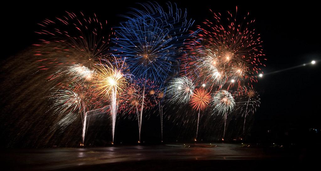 Panning Fireworks